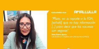 Rosa María Apaza (Fuente: Andina)