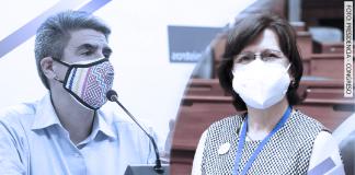 Alejandro Neyra - Pilar Mazzetti (Foto: Presidencia - Congreso)