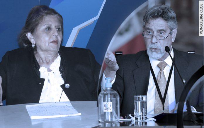 Carmen González - Francisco Sagasti (Foto: Presidencia)