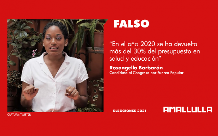 Rosangella Barbarán (Foto: Twitter)