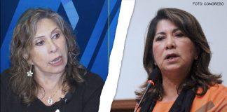 Zenaida Solís - Martha Chávez (Foto: Congreso)
