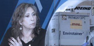 Zenaida Solís - Primer lote de vacunas (Foto-Presidencia)