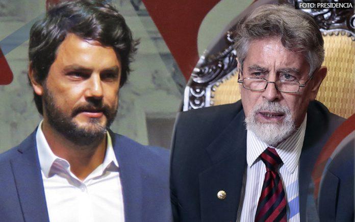 Daniel Olivares - Francisco Sagasti (Foto: Presidencia)