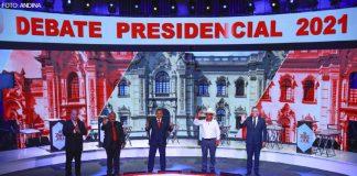 Debate JNE - Segundo encuentro (Foto-Andina)