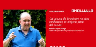 Rafael López Aliaga (Foto: Andina) Diseño: Red Ama Llulla
