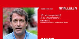 Rafael Santos (Foto: Andina) Diseño: Red Ama Llulla