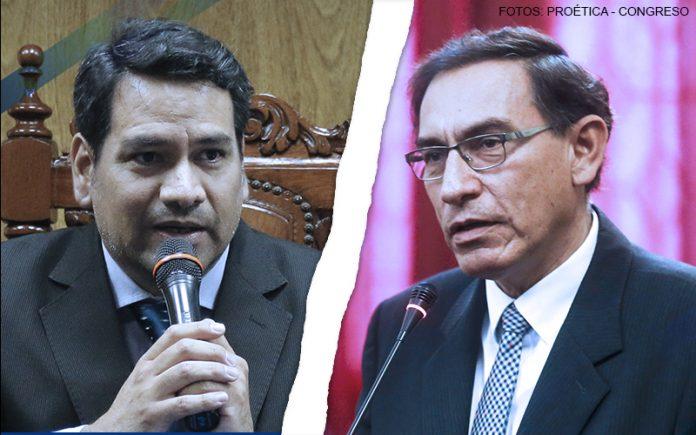 Samuel Rotta - Martín Vizcarra (Foto: Proética -Congreso)
