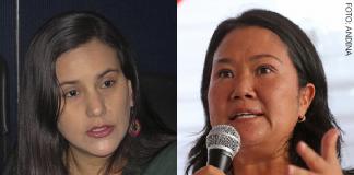 Verónika Mendoza - Keiko Fujimori (Foto: Andina)