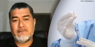 Antonio Quispe - Vacunación (Foto: Presidencia)