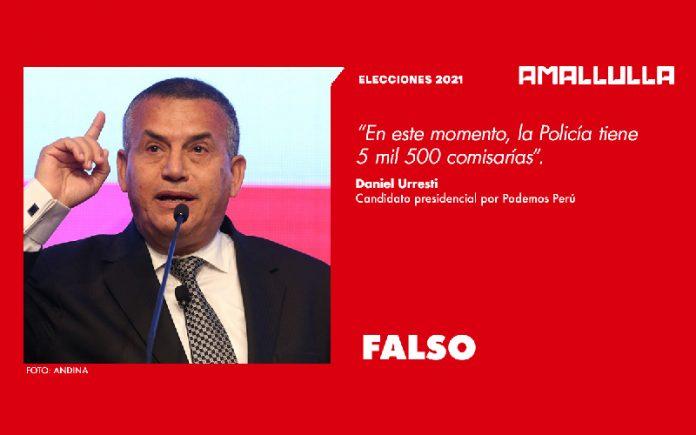 Daniel Urresti (Foto: Andina) Diseño: Red Ama Llulla