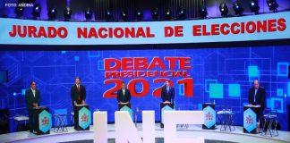 Debate JNE - Tercer encuentro (Foto: Andina)