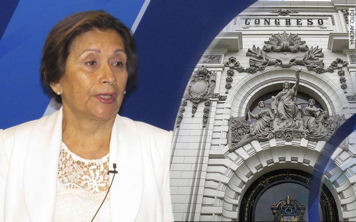 Inés Tello - Parlamento (Foto: Congreso)
