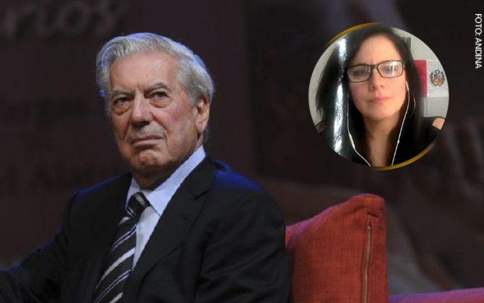 Mario Vargas Llosa - Claudia Cisneros (Foto: Andina)