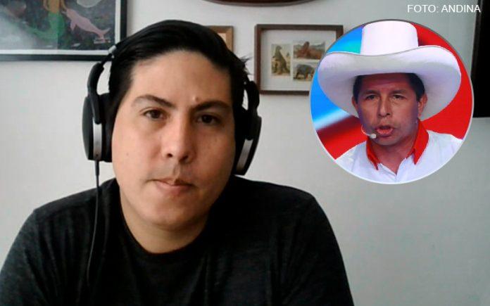 Mauricio Zavaleta - Pedro Castillo (Foto: Andina)