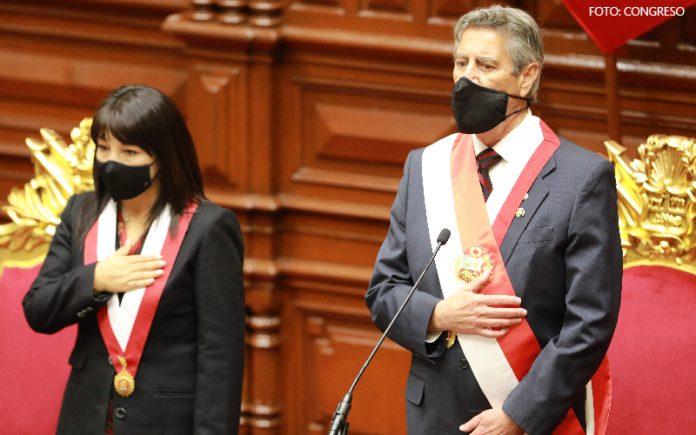 Mirtha Vásquez - Francisco Sagasti (Foto: Congreso)