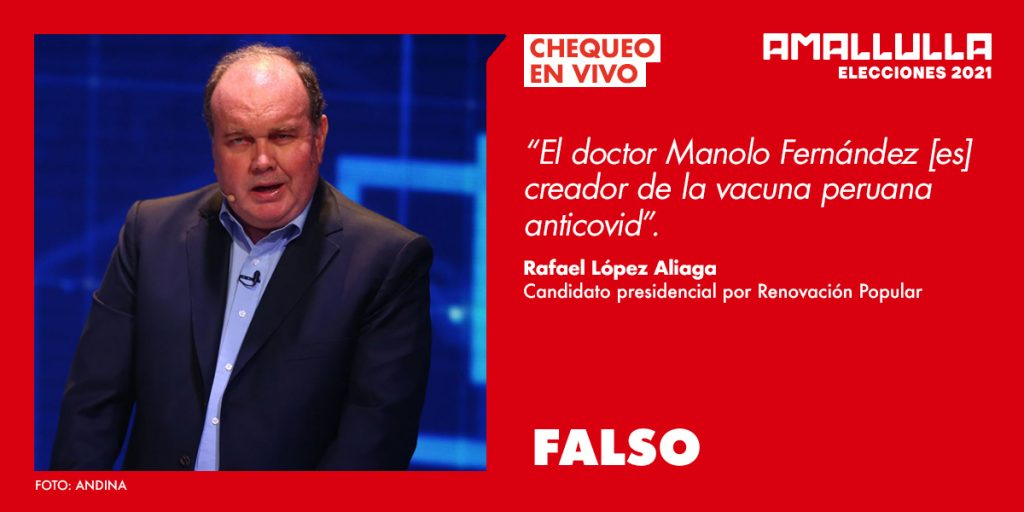 Rafael López Aliaga (Foto-Andina) Diseño-Red Ama Llulla