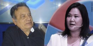 Sinesio López - Keiko Fujimori (Foto: Andina)
