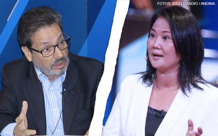 Antonio Maldonado - Keiko Fujimori (Fotos: Ideeleradio - Andina)
