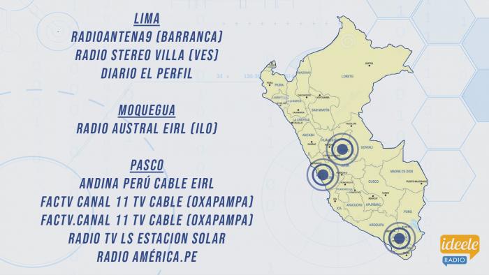 Ideeleradio - Lima - Moquegua - Pasco