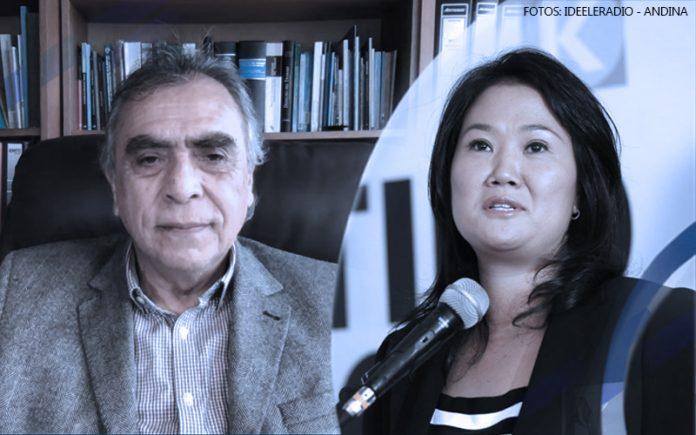 Adolfo Ciudad - Keiko Fujimori (Fotos: Ideeleradio - Andina)