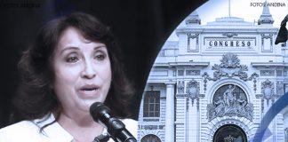 Dina Boluarte - Congreso de la República (Fotos: Andina)