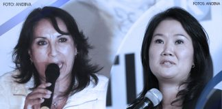 Dina Boluarte - Keiko Fujimori (Fotos: Andina)