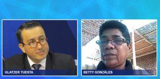 Glatzer Tuesta - Betty Gonzáles - Ideeleradio
