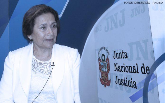 Inés Tello - Junta Nacional de Justicia (Fotos: Ideeleradio - Andina)
