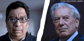 José Ragas - Mario Vargas Llosa (Foto: Ideeleradio - Andina)