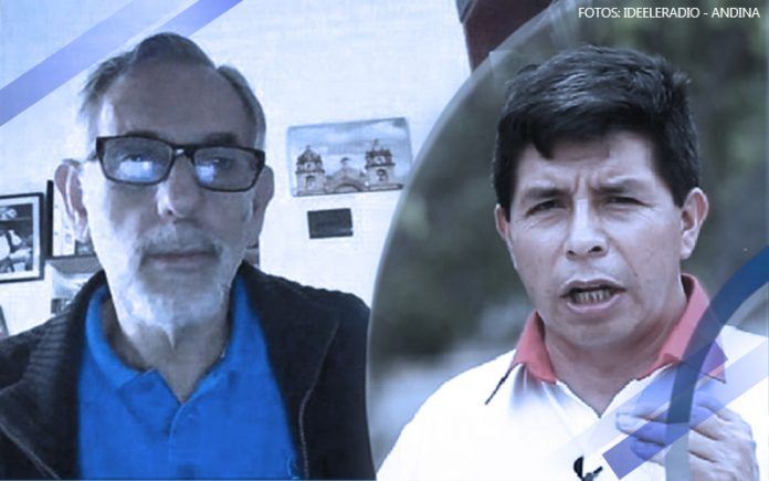 Pedro Francke - Pedro Castillo - Fotos - Ideeleradio - Andina