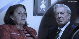 Carmen Mc Evoy - Mario Vargas Llosa (Fotos: Andina)
