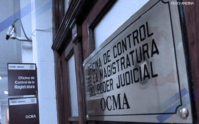 Oficina de Control de la Magistratura - OCMA - (Foto: Andina)