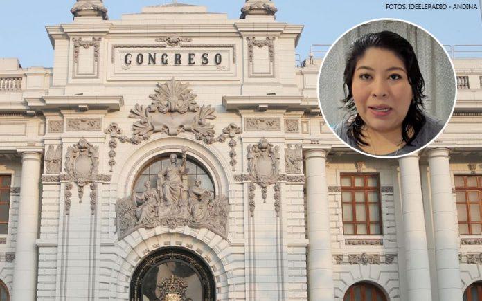 Betssy Chávez - Congreso (Fotos: Ideeleradio - Andina)