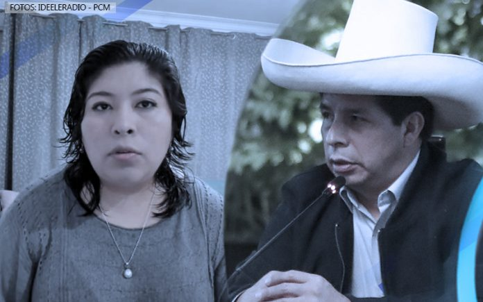 Betssy Chávez - Pedro Castillo (Fotos: Ideeleradio - PCM)