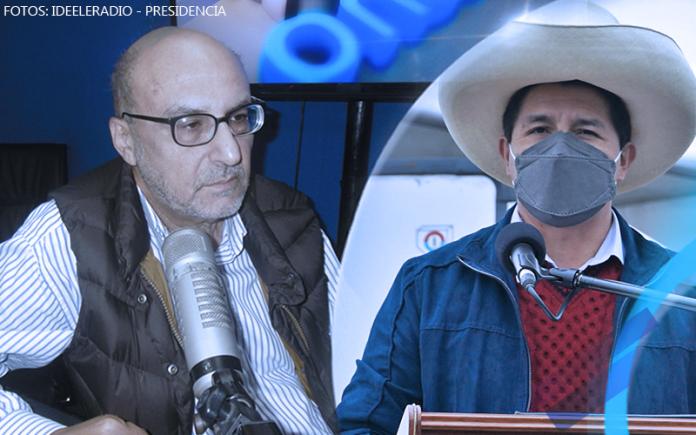 Antonio Zapata - Pedro Castillo - Fotos: Ideeleradio - Presidencia