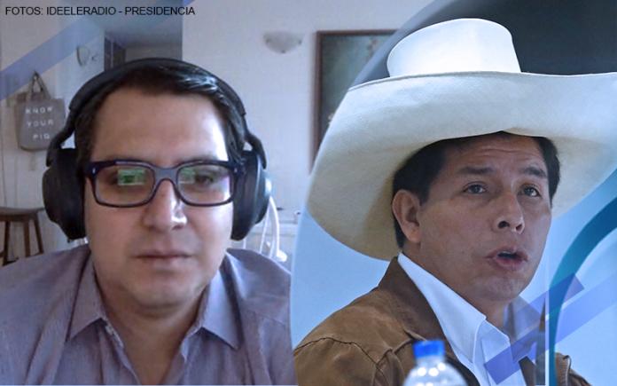 Diego Salazar - Pedro Castillo (Fotos: Ideeleradio - Presidencia)