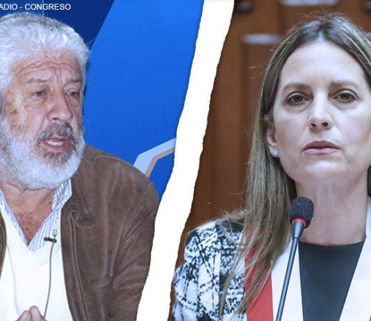 Eduardo Ballón - María del Carmen Alva (Fotos: Ideeleradio - Congreso)