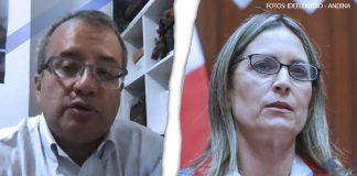Eduardo González Cueva - María del Carmen Alva - Fotos: Ideeleradio - Andina