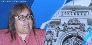 Giovanna Peñaflor - Congreso de la República - Fotos: Ideeleradio - Andina