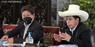 Guido Bellido - Pedro Castillo (Fotos: Presidencia)