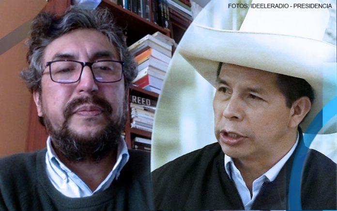 Hernán Maldonado - Pedro Castillo (Fotos: Ideeleradio - Presidencia)