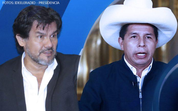 Javier Torres - Pedro Castillo - Fotos: Ideeleradio - Presidencia