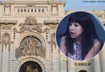 Mirtha Vásquez - Congreso - Fotos: Ideeleradio - Andina