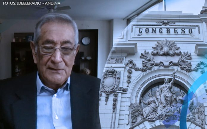 Oswaldo Zegarra - Congreso - Fotos: Ideeleradio - Andina