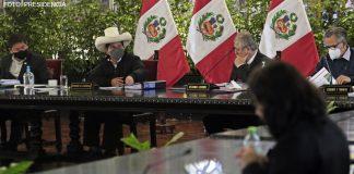 Pedro Castillo - Consejo de Ministros (Foto: Presidencia)