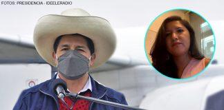 Pedro Castillo - Laura Arroyo (Fotos: Presidencia - Ideeleradio)