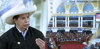 Pedro Castillo - Congreso (Fotos: Presidencia - Congreso)