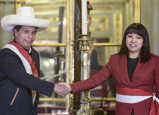 Pedro Castillo - Mirtha Vásquez (Foto: Presidencia)